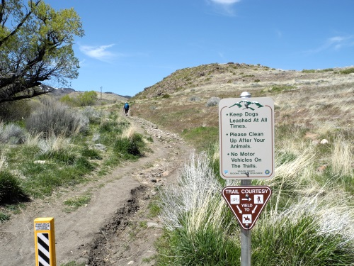 Interpretive signs found along the Ballardini Ranch Trail, Reno, Nevada, NV