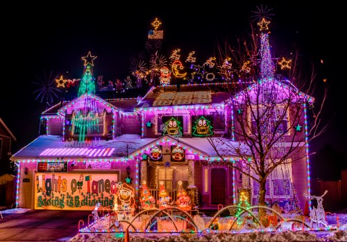 Christmas Lights of Tanea, Reno, Nevada