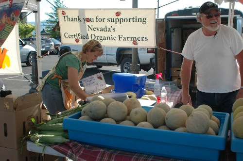 Farmers Markets around Reno and Sparks, Nevada