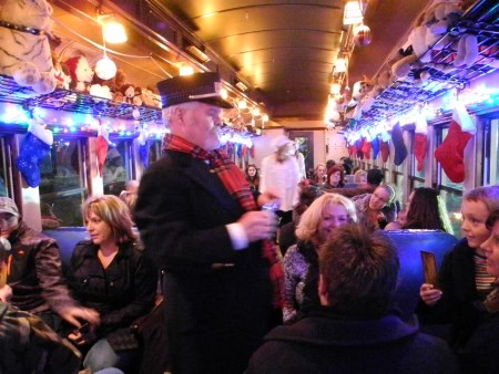 Polar Express on the Virginia and Truckee Railroad, Nevada, NV