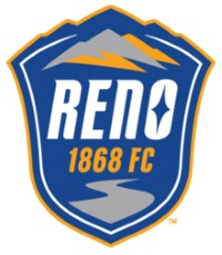 Reno 1868 FC soccer team club, Nevada, NV