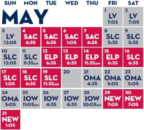 reno aces schedule 2015