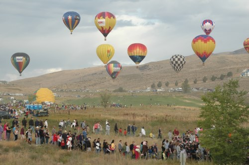 Great Reno Balloon Race, Nevada, NV