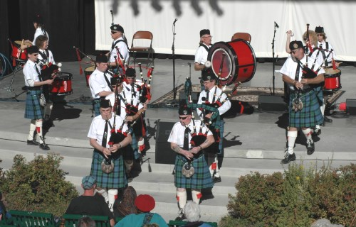 Bagpipers, Reno Celtic Celebration