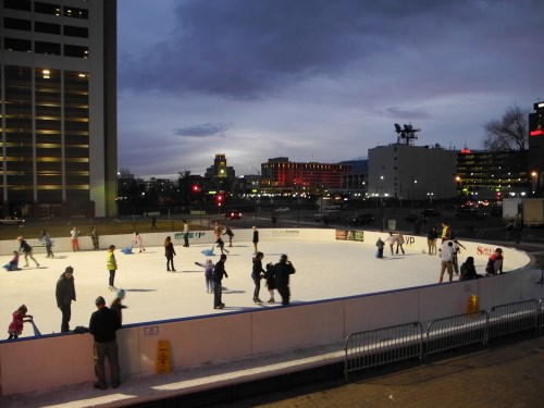 Reno Ice Skating Rink at Aces Ballpark