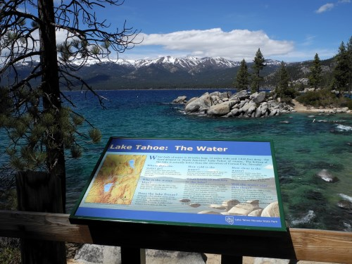 Sand Harbor at Lake Tahoe Nevada State Park