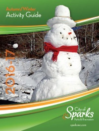 Sparks Recreation Activity Guide, Sparks, Nevada, NV