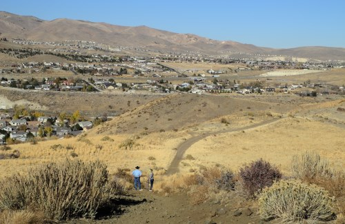 Tom Cooke Trail in west Reno, Nevada