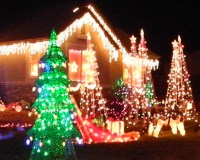 Christmas lights, Reno, Sparks, displays, Nevada, NV