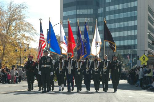 Veterans Day Parade in Reno, Nevada