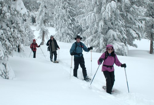 Winter Trails Day event in the Lake Tahoe region