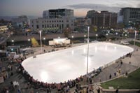 Rink on the River, site of old Mapes Hotel, downtown Reno