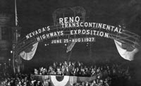 Reno Arch Nevada Transcontinental Highways Exposition