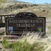 Ballardini Ranch Trailhead, Reno, Nevada, NV