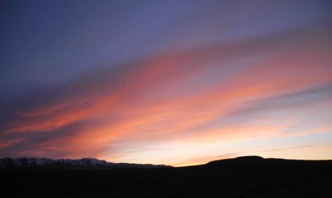 Sunset, Black Rock Desert, Nevada, NV