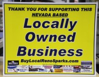 Buy from locally owned business in Reno, Nevada