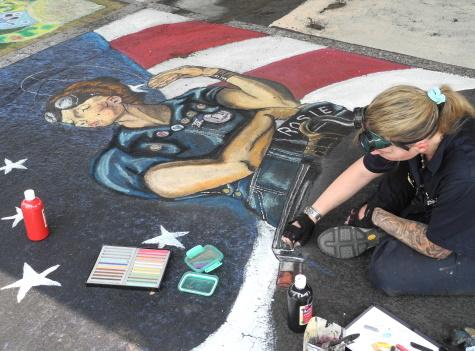 Reno Chalk Art Festival, Artown, Nevada, NV