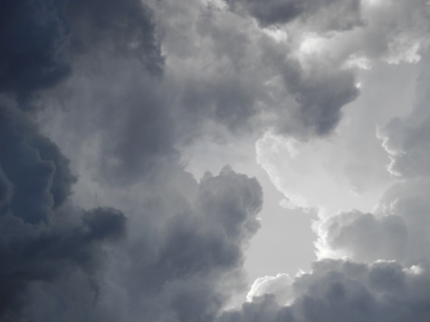Thunderheads clouds, weather, storms, Reno, Nevada, NV