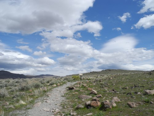 Huffaker Hills trails, Reno, Nevada