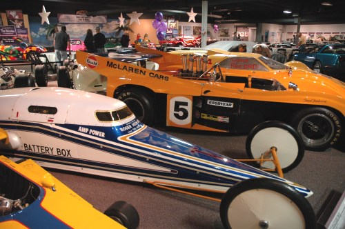 Race cars, National Automobile Museum, Reno, Nevada