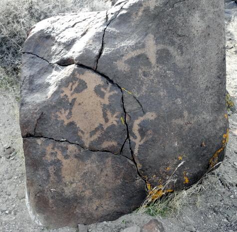 Petroglyphs, Grimes Point, Fallon, Nevada, NV
