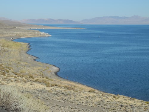 Pyramid Lake, north of Reno, Nevada, NV