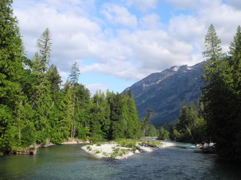 Stehekin River, North Cascades National Park, Washington, WA