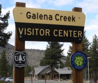 Galena Creek Visitor Center, Reno, Nevada