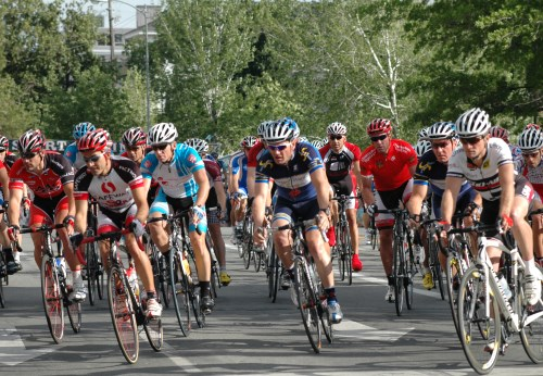 Tour de Nez bicycle racing in Reno, Nevada
