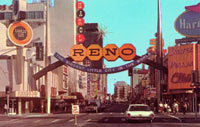 Reno Arch Nevada 1963 Biggest Little City in the World